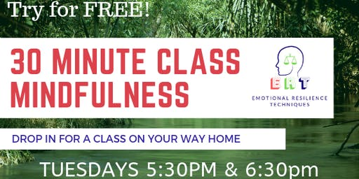ERT, 30 Minute Mindfulness Class