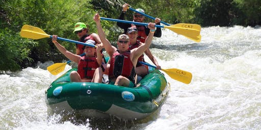 White Water Rafting at Cache Canyon