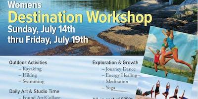 Women's Rejuvenate & Create Workshop - Maine