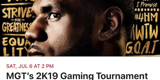 NBA 2K19 Tournament