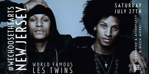 LES TWINS NEW JERSEY WORKSHOP