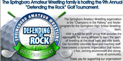 S.A.W 9th Annual Defending the Rock Golf Outing