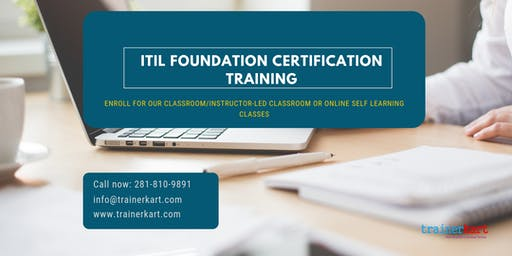 ITIL Foundation Classroom Training in Florence, SC