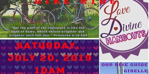 Love Divine hangout presents Central Park Bike Ride 2019