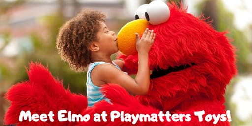 Meet Elmo at Playmatters