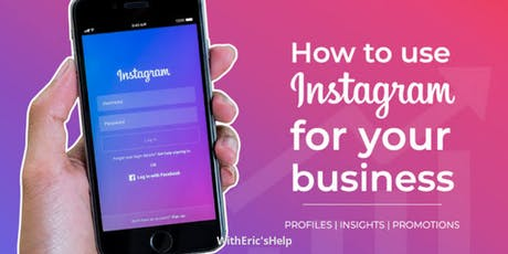 Expanding your business through Instagram (1:1 Event) Beginners tickets