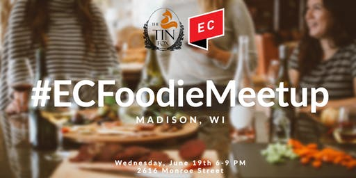 #ECFoodieMeetup in MADISON