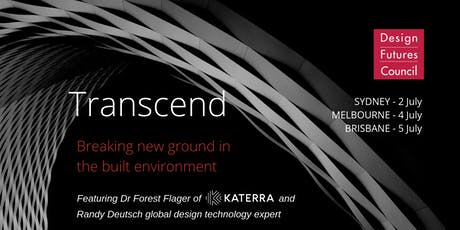 Transcend- breaking new ground in the built environment  tickets