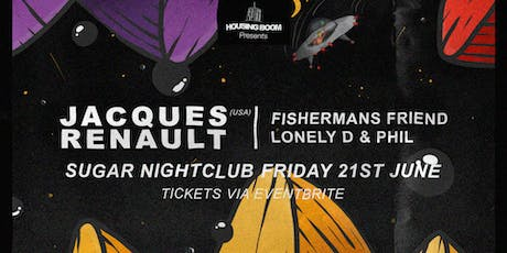 Housing Boom • Jacques Renault (USA) • Fri 21st June tickets