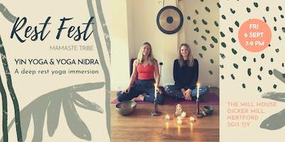 Mamaste Rest Fest: Yin Yoga & Yoga Nidra