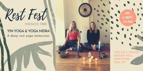Mamaste Rest Fest: Yin Yoga & Yoga Nidra tickets