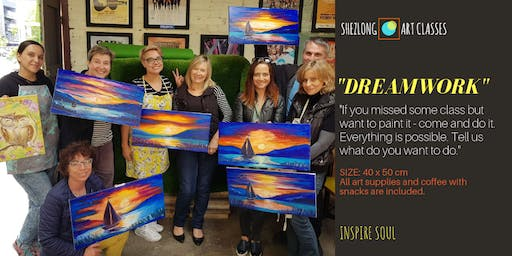 DREAMWORK - social oil painting class