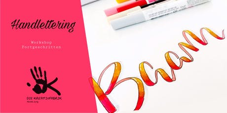Handlettering Workshop Teil 2 Tickets