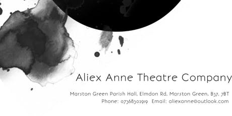 Aliex Anne Theatre Company tickets