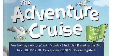 Adventure Cruise Holiday Club tickets