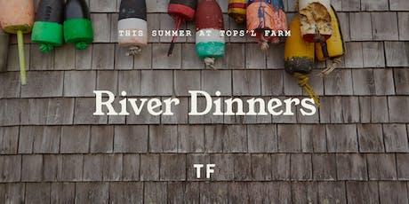 Tops'l Farm River Dinners tickets