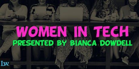 Women In Tech   Start Creating Wealth via Technology tickets
