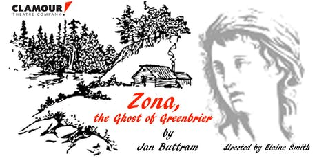 Zona, The Ghost of Greenbriar tickets