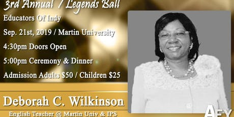 Legends Ball 2019 tickets