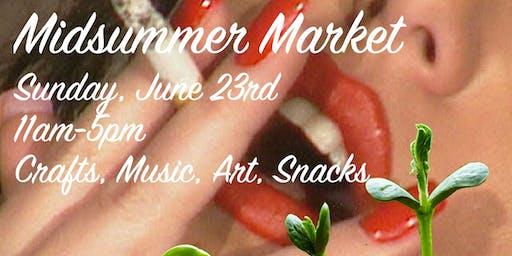 Midsummer Market & Tie-Dye Pool Party
