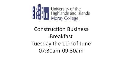 Construction Business Breakfast