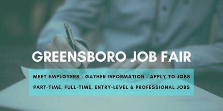 Greensboro Job Fair - June 25, 2019 Job Fairs & Hiring Events in Greensboro NC tickets