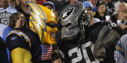 Los Angeles Chargers vs Oakland Raiders New Orleans Watch Party