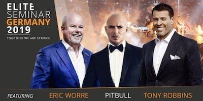 Elite-Seminar 2019 mit Tony Robbins - Eric Worre - Pitbull