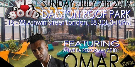 Roof Top BBQ ft Omar tickets