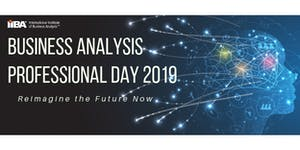 IIBA® Sydney - Business Analysis Professional Day 2019