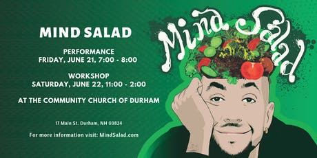 Mind Salad Performance & Optional Workshop  tickets