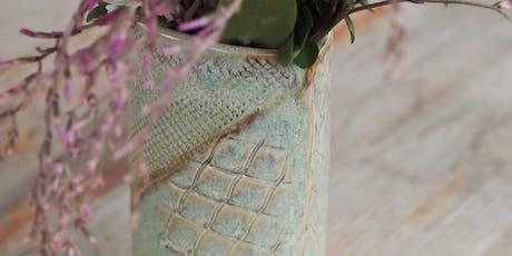 Intro to Ceramics: Handmade Vases tickets