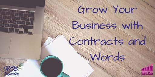 Grow your business with contracts and words