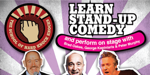 Melbourne: Learn Stand-up Comedy - Evenings: June 23 - 27, 2019