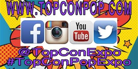TOPCON POP EXPO 2019 CALL FOR ART tickets