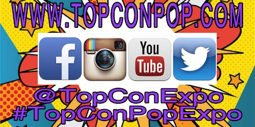 TOPCON POP EXPO 2019 CALL FOR ART