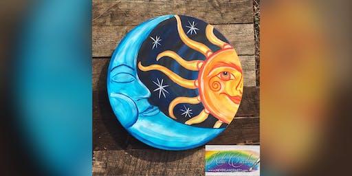 Sun & Moon: Pasadena, Cheshire Crab with Artist Katie Detrich!