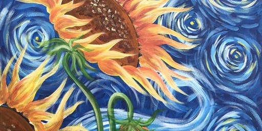 Sunflowers Brush Party - Milford