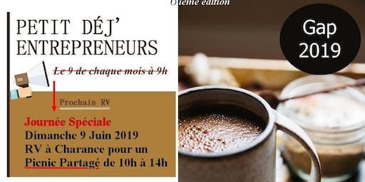 Petit Déj' Entrepreneurs Gap - 6ième Edition (Spéciale)