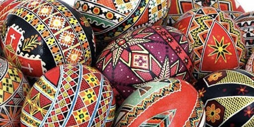 PYSANKY - UKRAINIAN EGG PAINTING