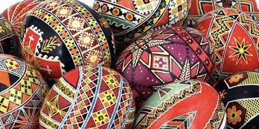 PYSANKY 2 - UKRAINIAN EGG PAINTING