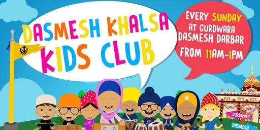 Khalsa Kids Club - Dasmesh Darbar