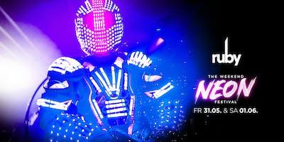 RUBY DANCECLUB - THE WEEKEND NEON FESTIVAL ®️