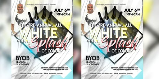 The 3rd Annual All White With A Splash Of Color