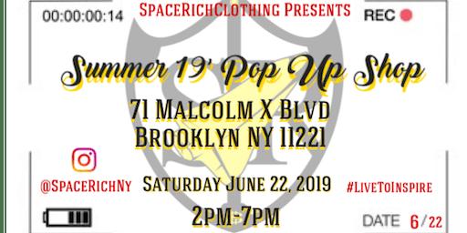 SpaceRichClothing Presents ''SRNY Pop Up Shop''