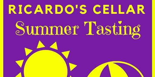 Ricardo's Cellar Summer Tasting - Single Ticket