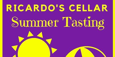 Ricardo's Cellar Summer Tasting - Multibuy Ticket For 6 tickets