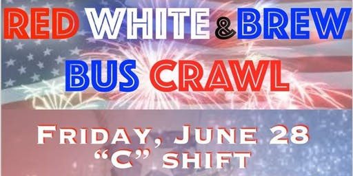 Red, White, & BREW Bus Crawl
