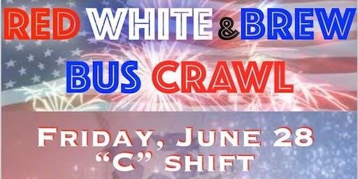 Red, White, & BREW Bus Crawl