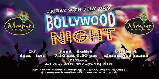 Bollywood Night Liverpool